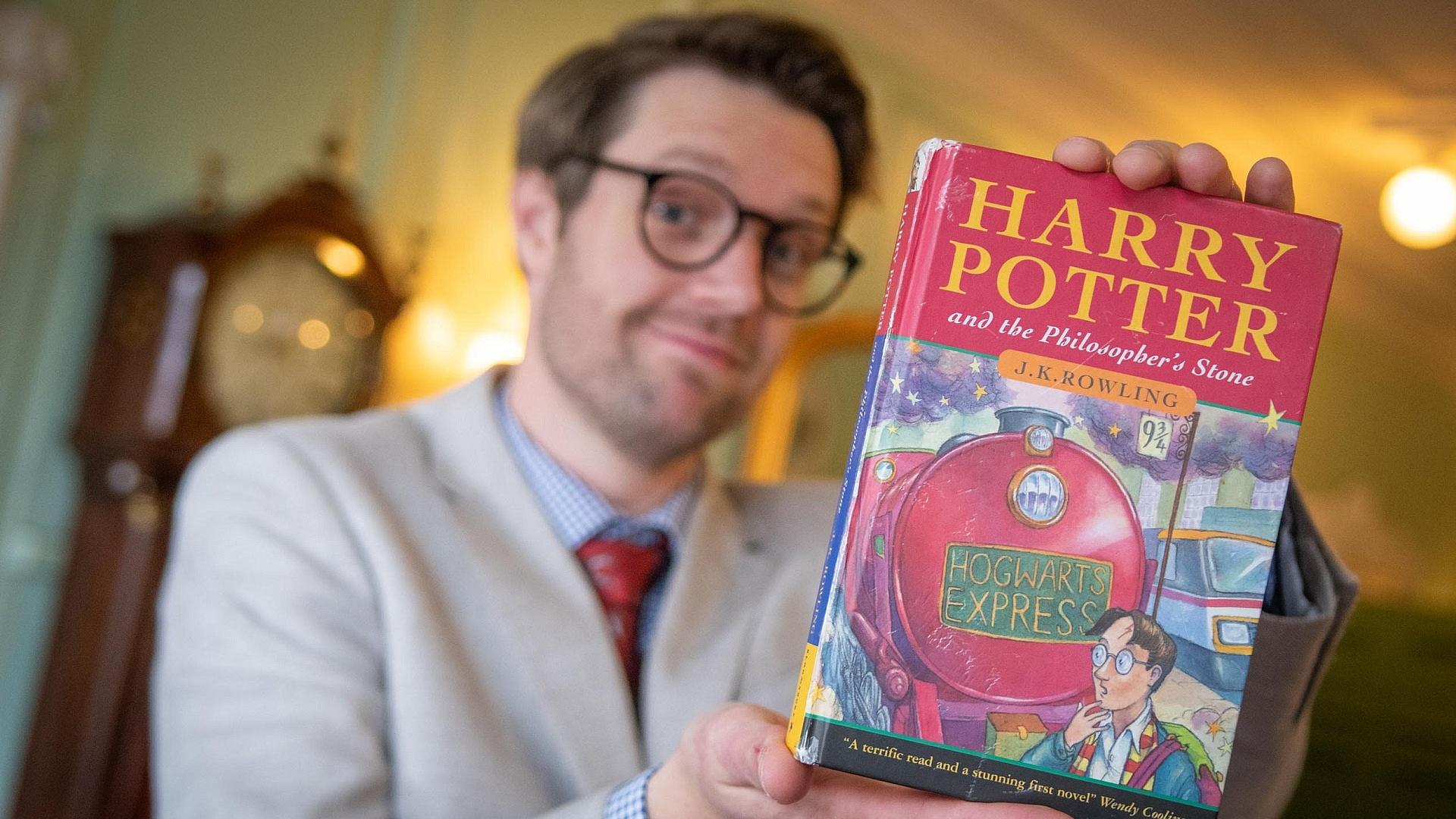 24 millió forintért kelt el egy első kiadású Harry Potter-kötet